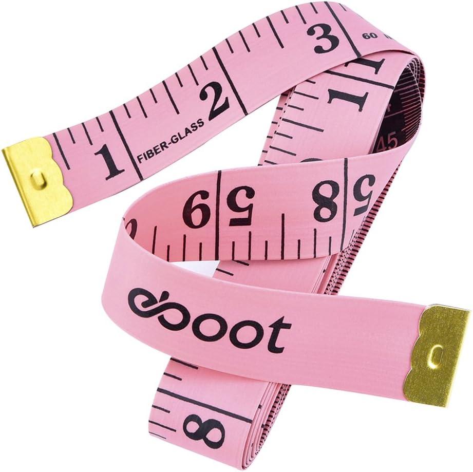 """60/""""//150 cm//5 FT Rose Ruban à mesurer-Automatique Roll-up"""