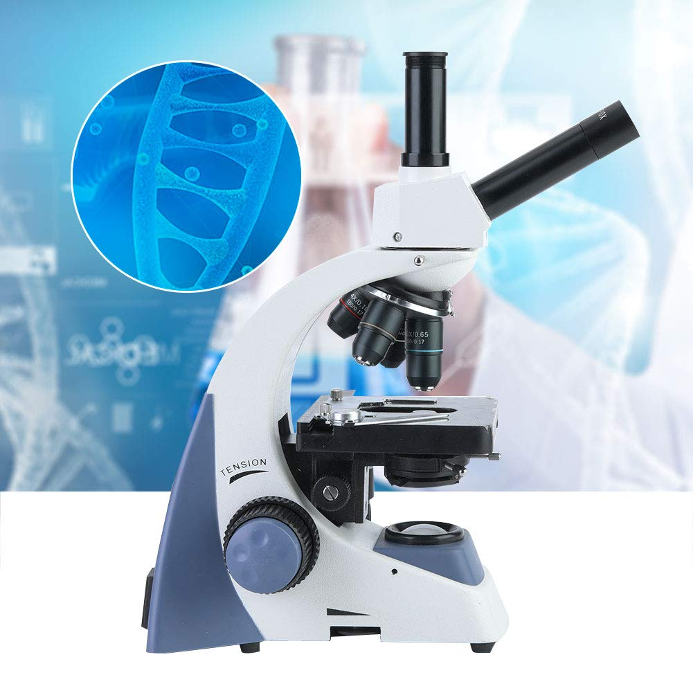 Cosiki WF10X Microscope Students Educational Lab Biomicroscope 100-240V, 40-1000X(2) by Cosiki