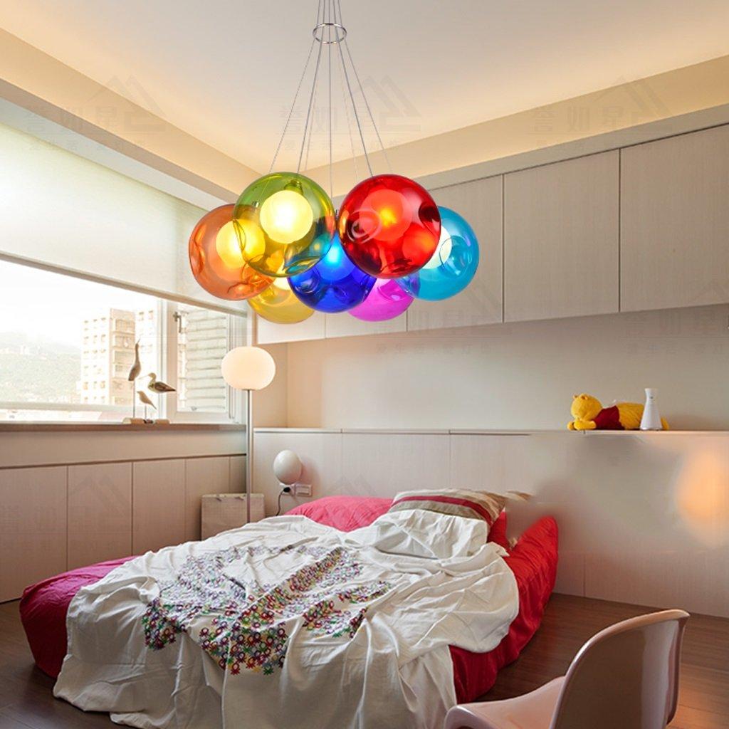 salone creativo palla sala da pranzo lampadario Lampadario bolle ...
