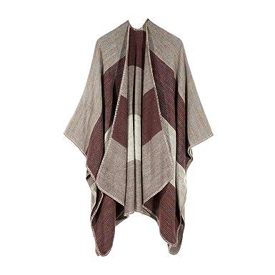 Darringls Abrigos de Invierno Mujer, Chaqueta Tejer Mantón Abrigo Cosiendo Moda Parka Elegantes: Amazon.es: Ropa y accesorios