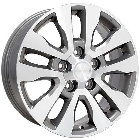amazon 20x8 wheel fits toyota truck suv tundra style silver  amazon 20x8 wheel fits toyota truck suv tundra style silver rim w mach d face set of 4 automotive