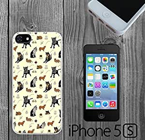 Cat Design Pattern Custom made Case/Cover/Skin FOR iPhone 5/5s