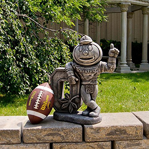 Ohio State Buckeyes NCAA ''Brutus'' College Mascot 22? Vintage Statue by Stone Mascots