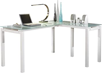 Signature Design By Ashley Baraga 61 L Shaped Home Office Desk Furniture Decor