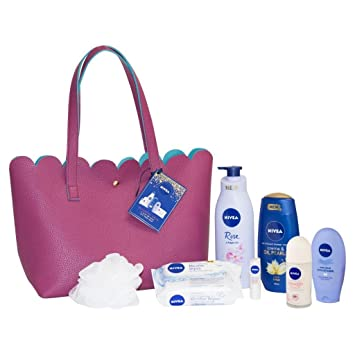 Nivea blissful skin gift pack amazon beauty nivea blissful skin gift pack negle Images