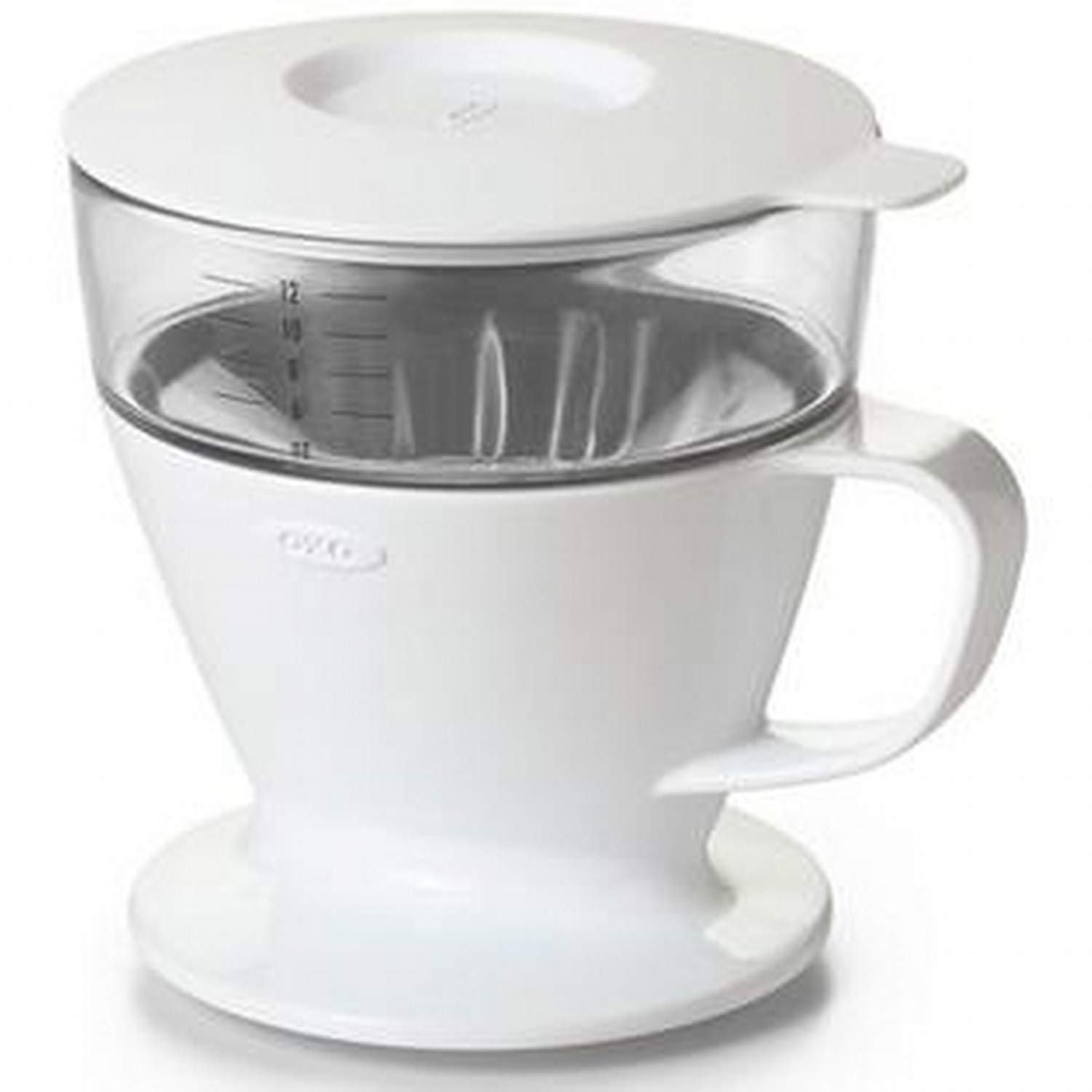OXO Good Grips Single Serve Pour Over Coffee Dripper with Auto-Drip Water Tank
