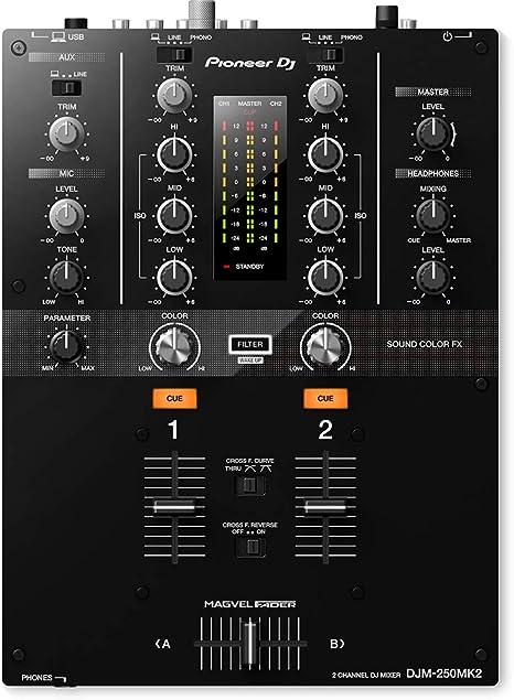 Amazon.com: Pioneer DJM-250MK2 - mezclador de DJ: Musical ...
