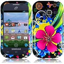 For Samsung Galaxy Centura S738C Hard Design Cover Case Eternal Flower Accessory