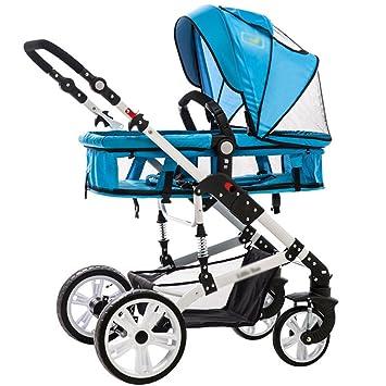 Cochecito Anna Sistema del Recorrido bebé Baby Trolley luz Paraguas Coche de Cuatro Ruedas de Colisión