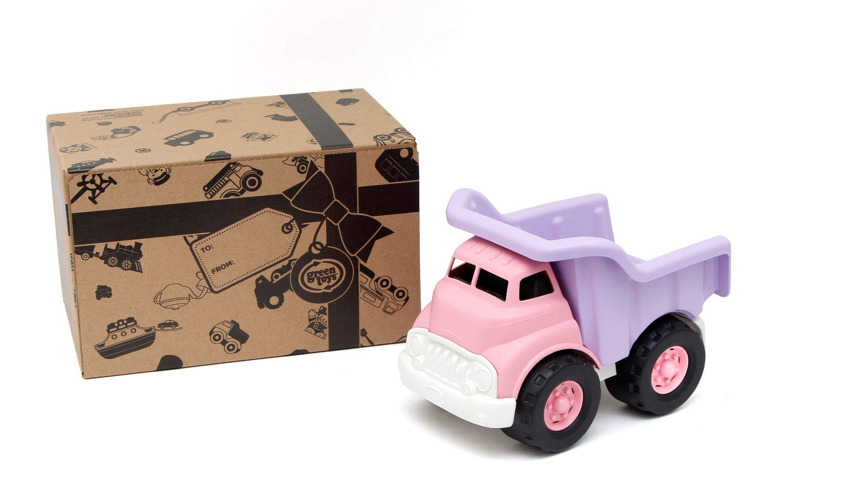 Green Toys Dump Truck - Frustration Free Packaging, Pink/Purple by Green Toys
