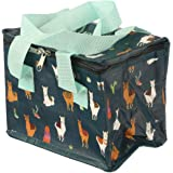 Wooven Cool Lunch/Food/Thermal Insulated Bag Sandwich School/Picnic I'll Alpaca