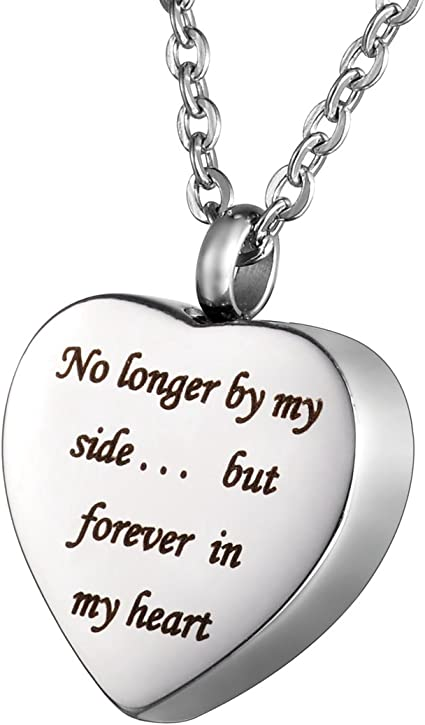 Memorial Ash Keepsake Daughter Bullet Urn Pendant with Personalized Engraving Cremation Jewelry