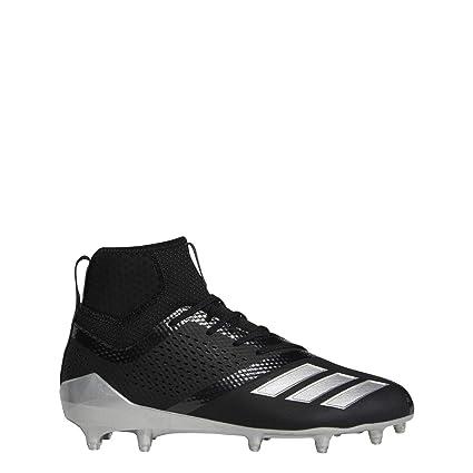 multiple colors e98d1 f7f8b adidas Adizero 5-Star 7.0 Mid Cleat - Mens Lacrosse 6.5 Core BlackSilver
