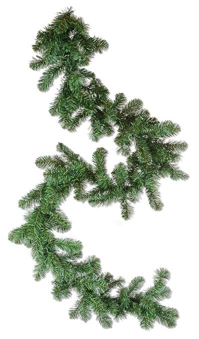 Riffelmacher Künstliche Tannengirlande 180 cm x 25 cm - Grün - Stimmungsvolle Advent und Weihnachtsdekoration