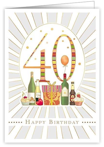 Mac Classic - Tarjeta de cumpleaños, 40.º cumpleaños: Amazon ...