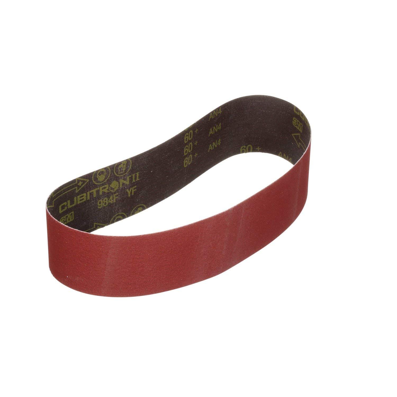 3M Cubitron II Cloth Belt 984F, 60+ YF-weight, 6 in x 48 in, Film-lok, Single-flex