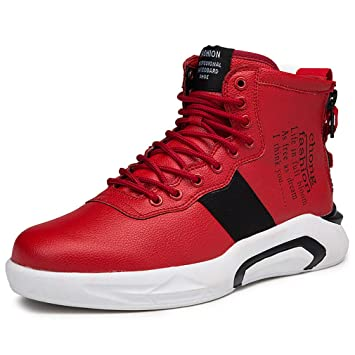 13ff53bac1b YAN Chaussures de Sport pour Homme Automne   Hiver Baskets Montantes  Chaussures de Danse de Rue