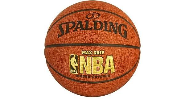 Spalding Official NBA tamaño/peso NBA Max Grip – Balón de ...