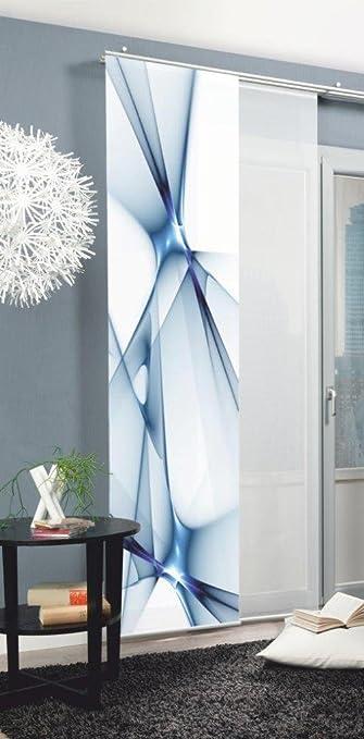 Turbo Amazon.de: Home fashion 87188-706 Schiebevorhang Digitaldruck  LK95