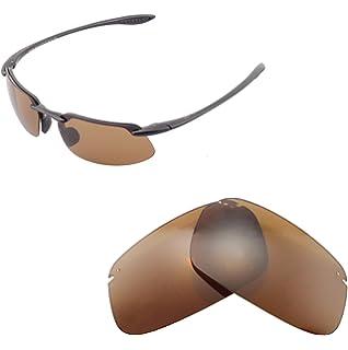 f0b25cba7cc0 Walleva Replacement Lenses for Maui Jim Kanaha Sunglasses - Multiple  Options Available