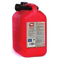 Deura Petrol Can, Red, 20 Liters, 5150-02