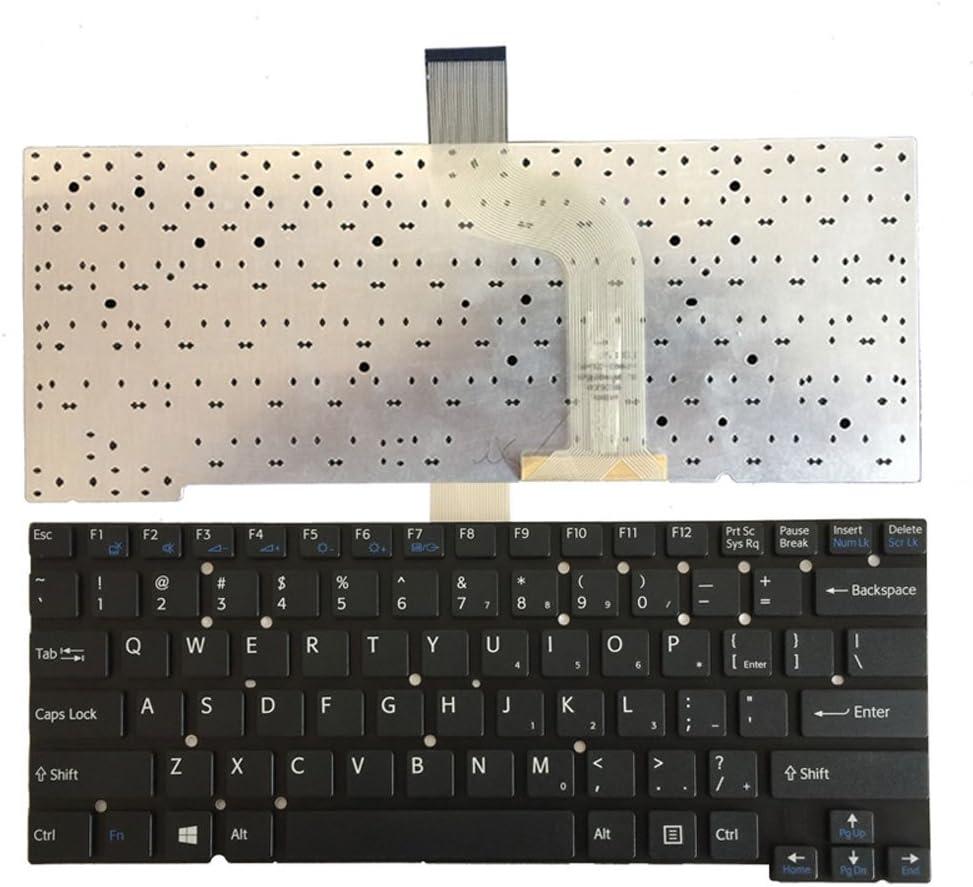 New English Laptop Replacement Keyboard for Sony Vaio SVT13 SVT14 SVT13122CXS SVT13124CXS SVT13125CXS SVT131A11W SVT131B11W SVT13113ENS SVT13117ECS SVT1311M1ES US Layout