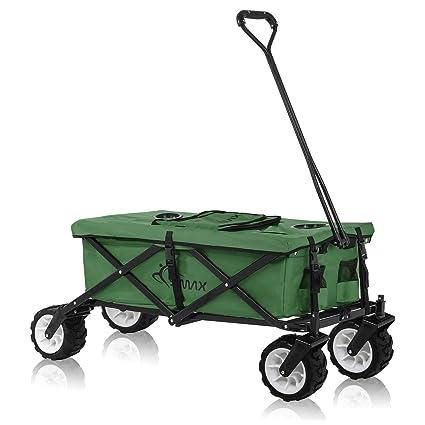 SAMAX: carrito de transporte de mano, todoterreno, color verde; diferentes versiones