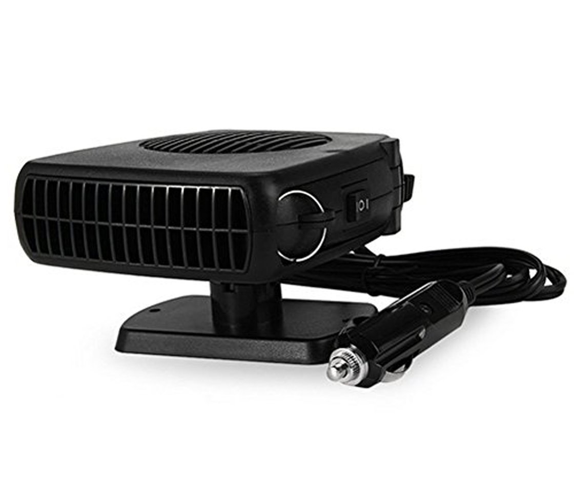 Amazon.com: 150W Portable 12V Auto Car Heater Heating Fan with Swing-out Handle Driving Enthusiasts Car-Styling Defroster Demisterr: Car Electronics