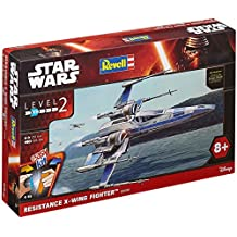 Revell 06696Disney, Star Wars VII series, Resistance X-wing Fighter, plastic model kit by Disney