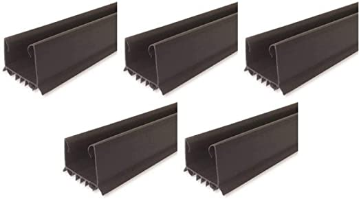 M-D Building Products 43337 M-D U-Shape Under Door Seal 36 In L X 2-1//4 In W X 1-1//2 In H Vinyl 1-3//4 In Thick