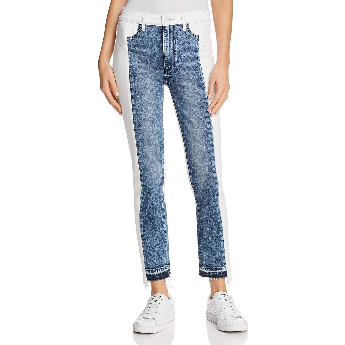 Agnes PAIGE Women's Hoxton Straight Ankle 27  with Piecing Details