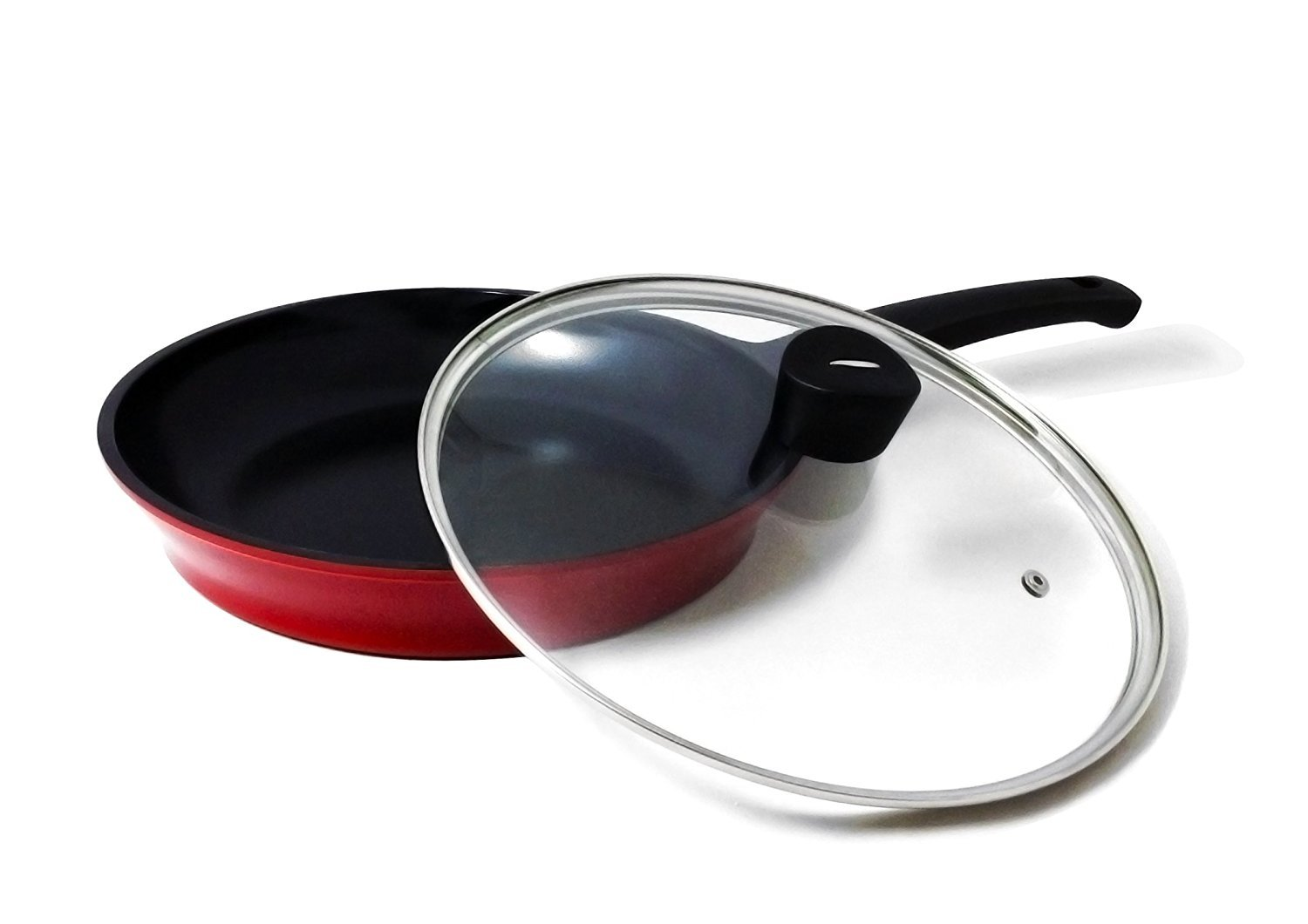 Flamekiss 10 Red Ceramic Coated Fry Pan by AmorÚ ...