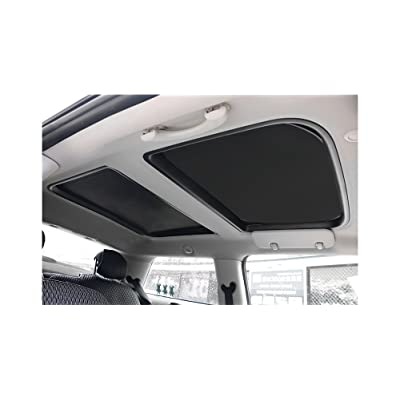 Yu Motor 2pcs Foldable Sunroof Shade Sunshade Heat Isolate fit for Mini Cooper, Clubman & Countryman R56 All Years: Automotive