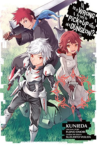 Is It Wrong to Try to Pick Up Girls in a Dungeon? Vol. 7 (Whos The Fastest Person In The World)