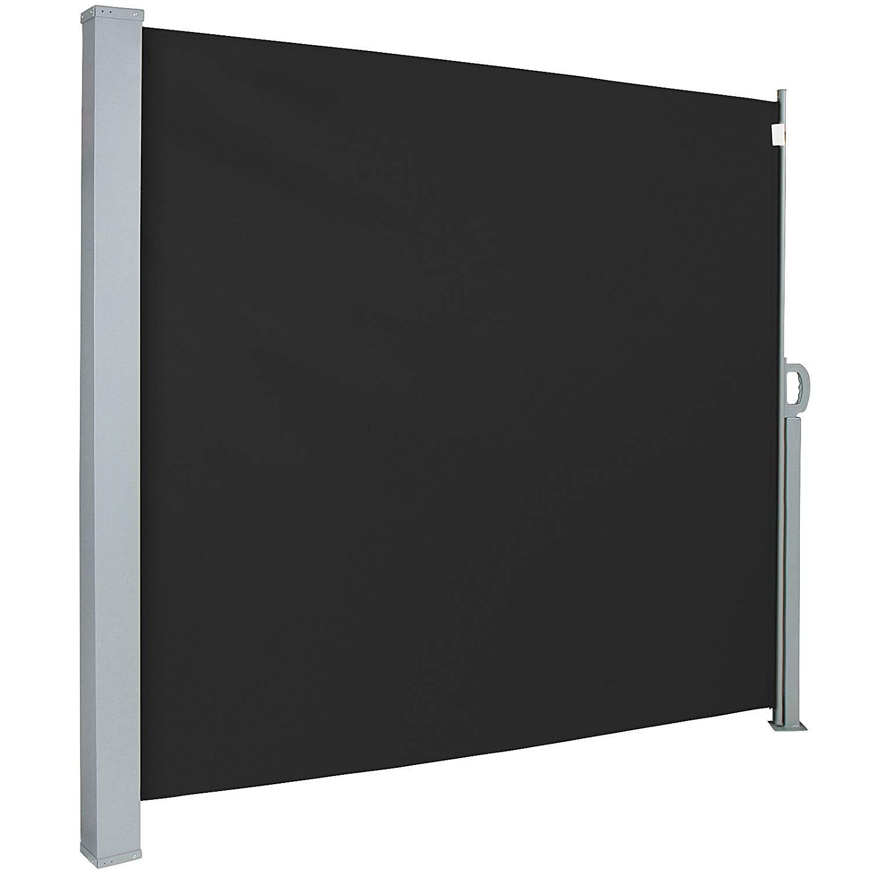 Jago SMKS01 - Toldo lateral para proteger, color negro, tamaño 160x300 cm: Amazon.es: Jardín
