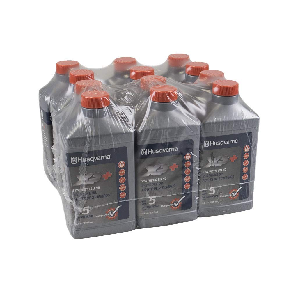 Lot of 2 Husqvarna XP 12.8 oz XP Premium Formula 2-Cycle Engine Oil 6-Packs