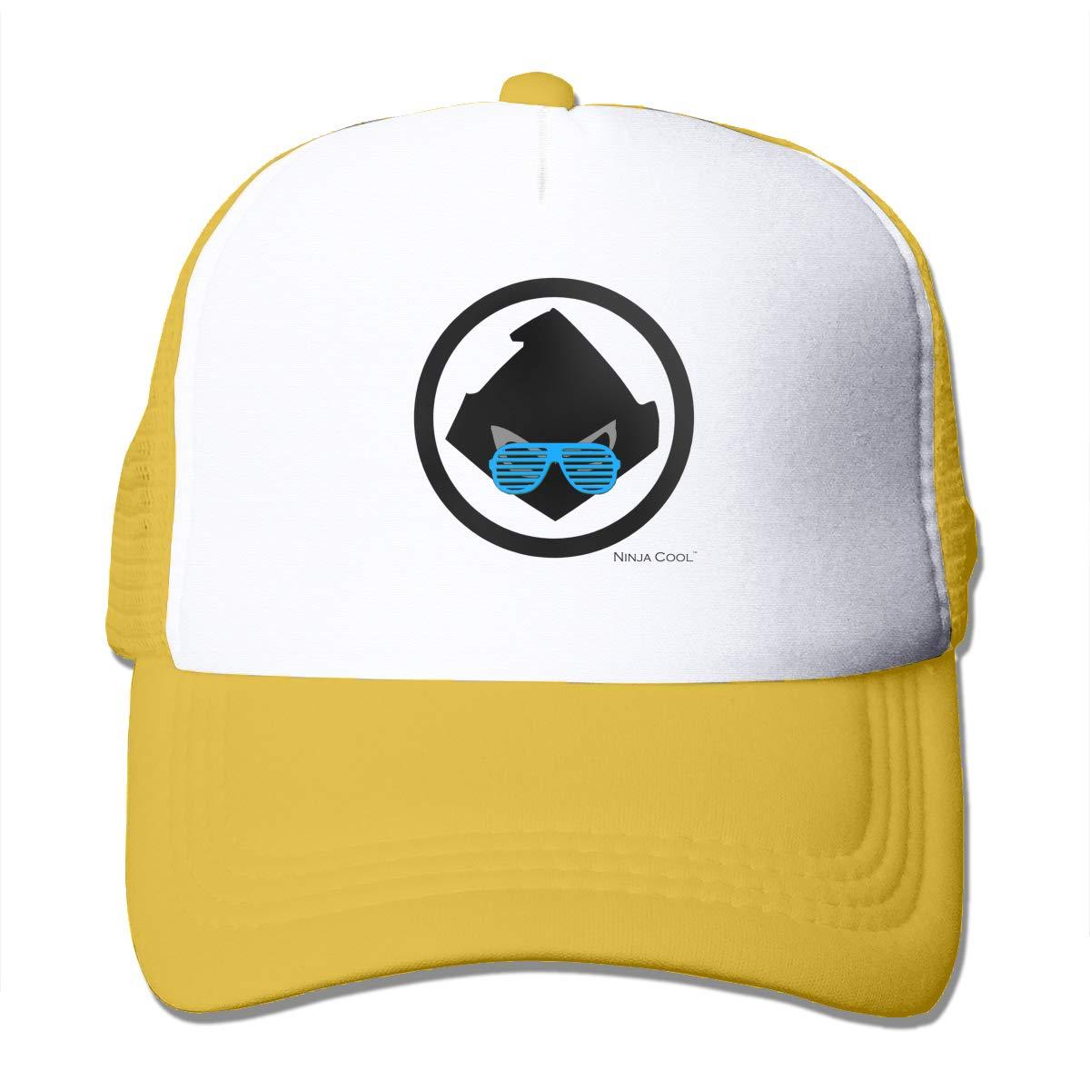 Laddna Ninja Cool Logo Mens Baseball Cap Adjustable Trucker ...