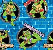 Springs Creative Products Grupo de Tortugas Ninja Mutant ...
