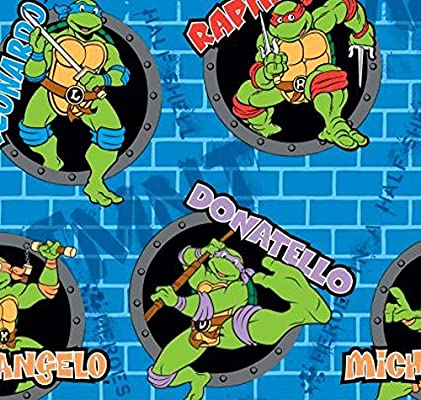 Springs Creative Products Grupo de Tortugas Ninja Mutant ...