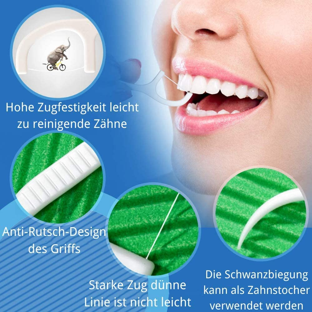les restaurants et les voyages Dental Floss Lot de 4 paquets de 200 b/âtonnets de soie dentaire jetables pour enlever la plaque dentaire et les ustensiles de cuisine Id/éal pour la famille les h/ôtels