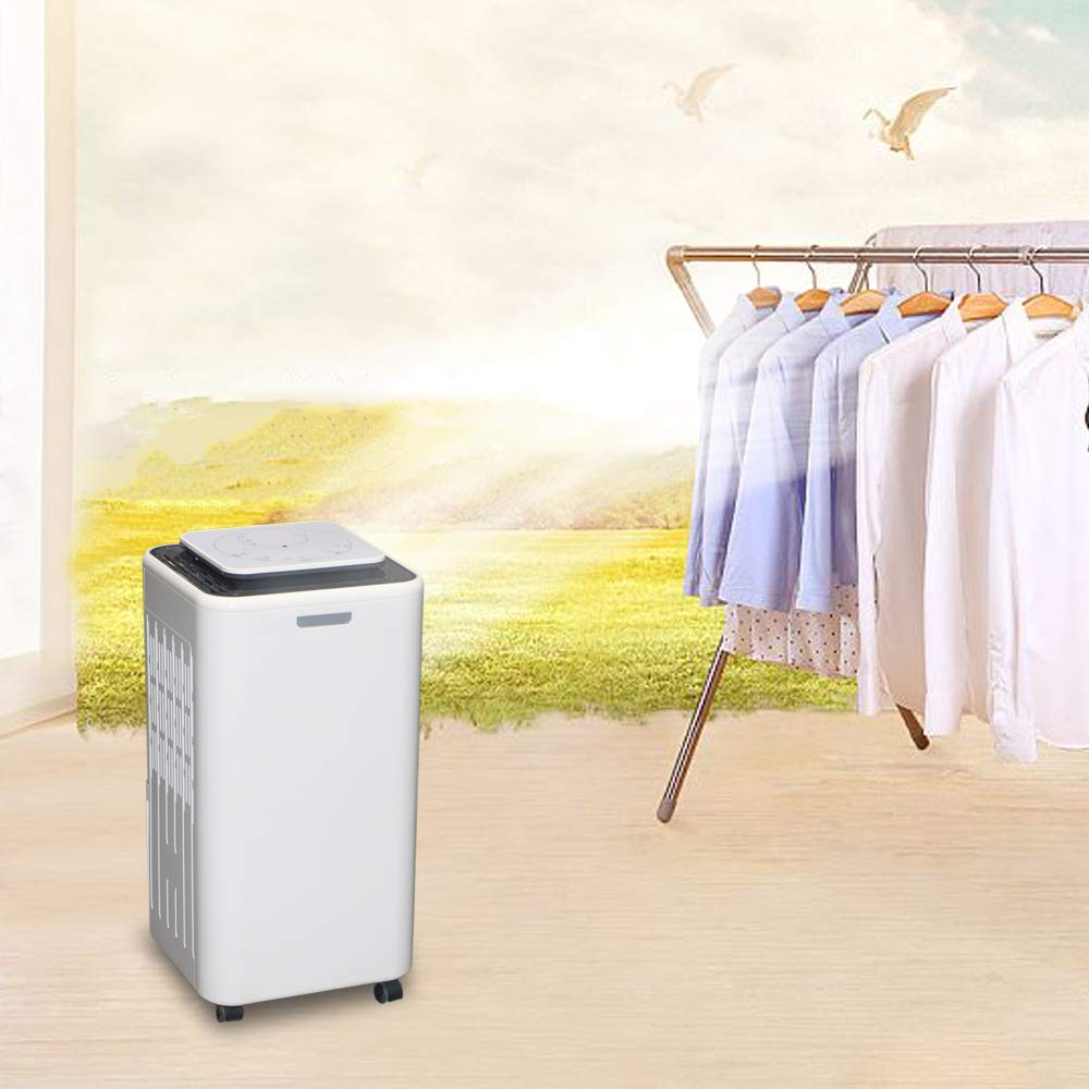 Eurgeen Touch Screen Dehumidifier 4 Gallons 30 Pints Working Capacity Every Day, 2nd Generation, with 2L Water Tank, Perfect for Home, Bedroom, Office, Living Room, Bathroom Up to 150-400 Sq Ft
