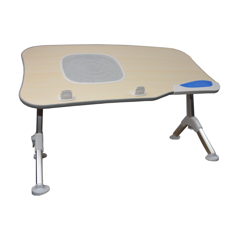 St.Oswalds Tavolino PC Portatile Leggio Letto Supporto Computer Pieghevole Vassoio da Colazione con Ventilatore per Notebook 17 TQMY X70