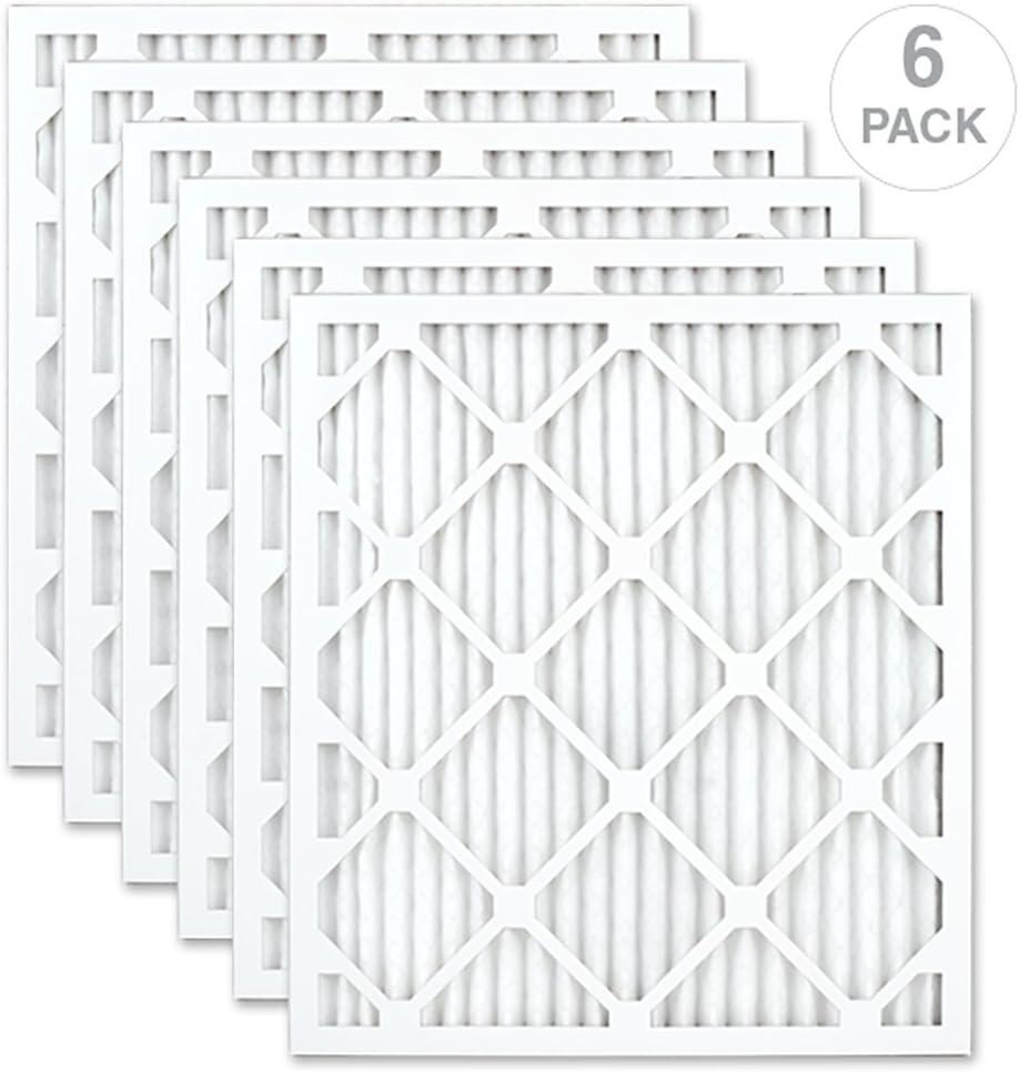 AIRx HEALTH 20x25x1 MERV 13 Pleated Air Filter Made in the USA Box of 6