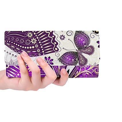 Único Personalizado Primavera Transparente violetgold ...