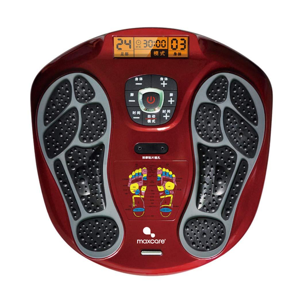 フットマッサージャー、LEDディスプレイスクリーン、フットリラクゼーションのための熱を備えたマシン、15のモードを備えた疲労緩和。, B B07TYYVJGT B