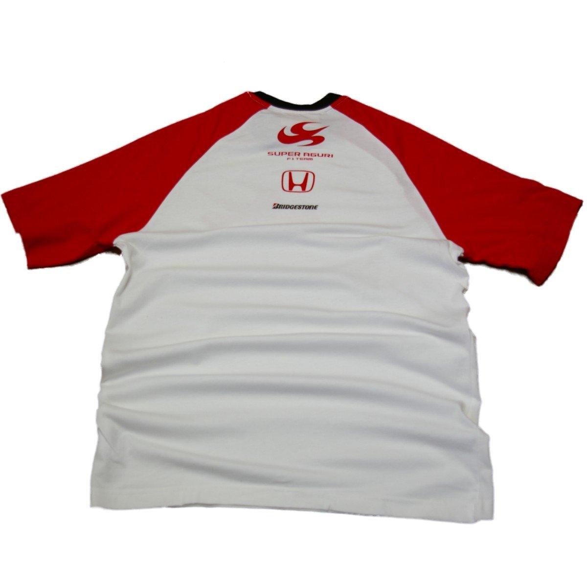 Super Aguri Camiseta Formula 1, Honda F1 R/W New, Hombre, Bianco ...