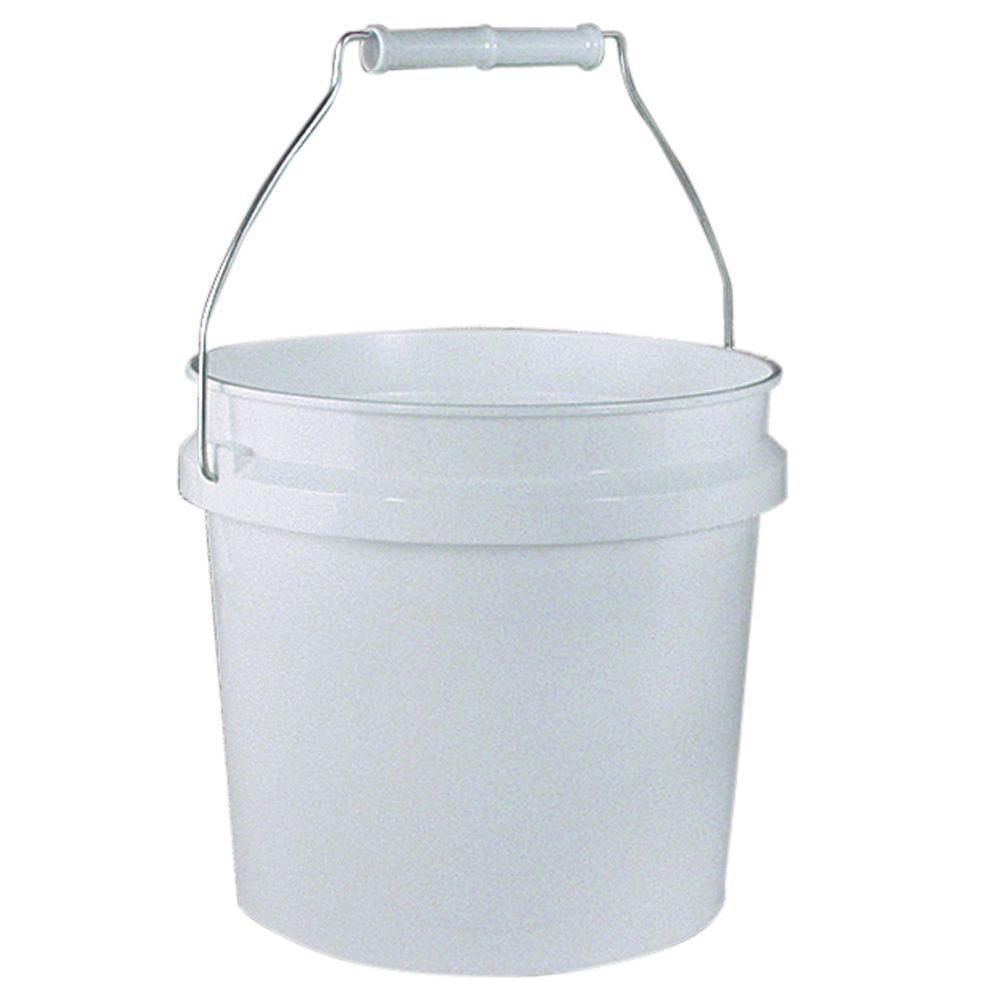 Leaktite 1-Gal. White Plastic Pail (Pack of 3)