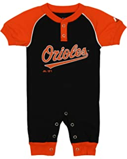 10788c5fe Amazon.com   MLB Newborn Boys Team Printed Sleepwear Coveralls ...
