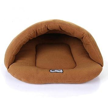 Camas Para Mascotas,Legendog Cueva de Mascotas Cama Deslizante en Forma de Perro Suave y Cálida Suministros para Mascotas Casa del gato (S-L): Amazon.es: ...
