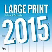 Large Print 2015 Square 12x12